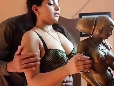 Beautiful Desi girl romance