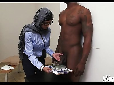 Sexy shower session with arab cutie